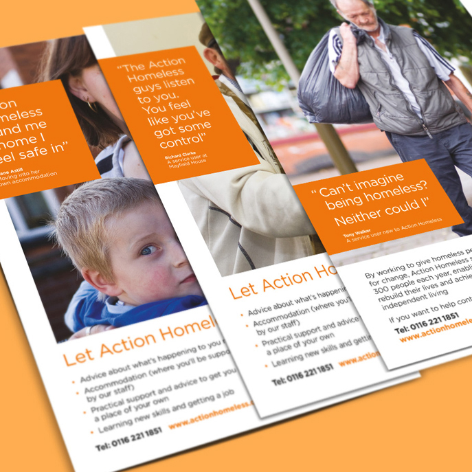 Action Homeless Reach Marketing Communications